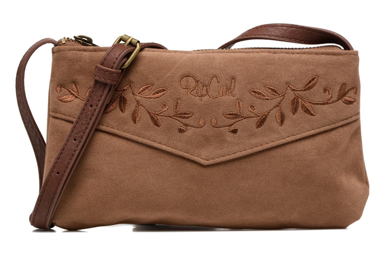 Handtaschen Rip Curl Talamanca suede Festival bag braun detaillierte ansicht/modell