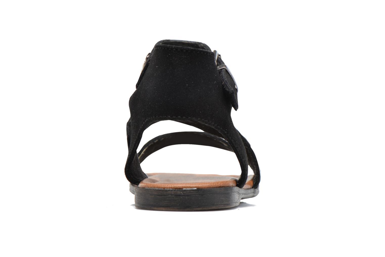 Sandales et nu-pieds Minnetonka Tangier Noir vue droite