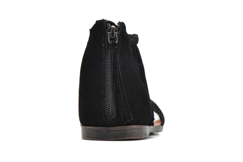 Sandales et nu-pieds Minnetonka Morocco Noir vue droite