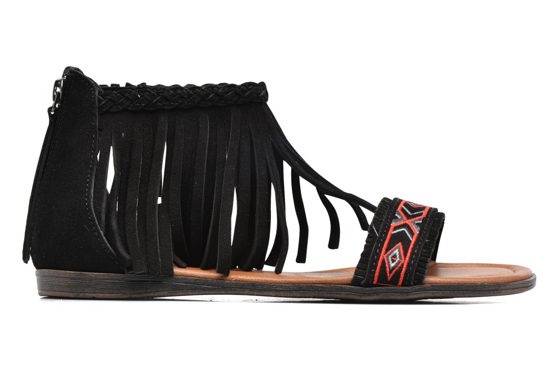 Sandales et nu-pieds Minnetonka Morocco Noir vue derrière
