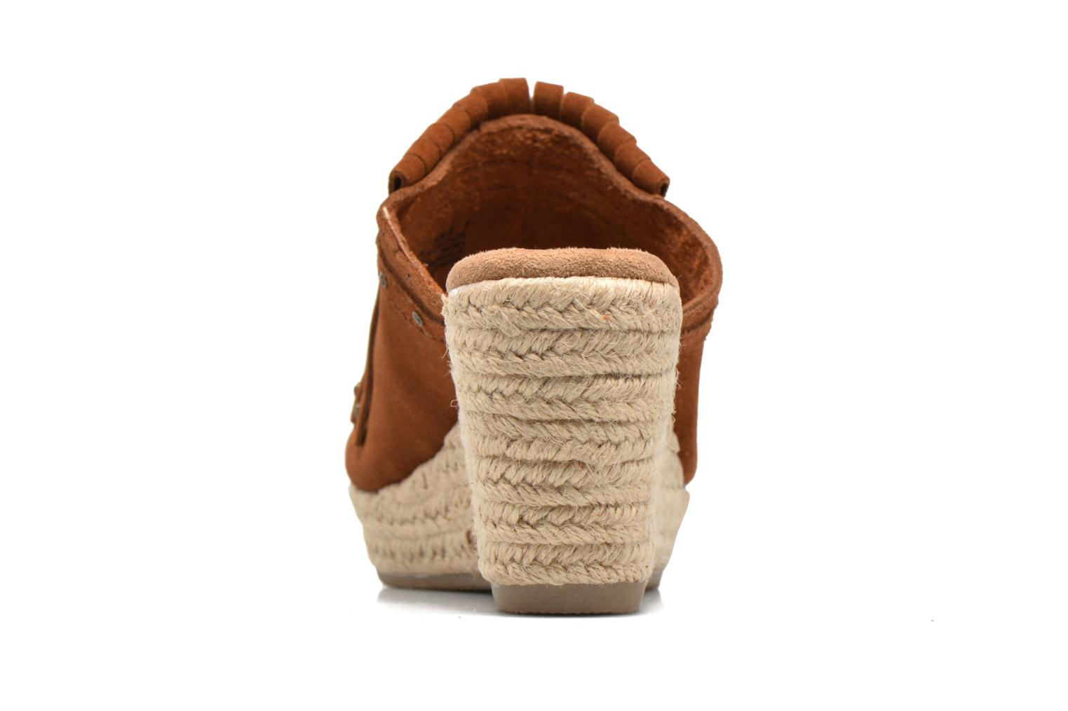 Mules & clogs Minnetonka Quinn Beige view from the right