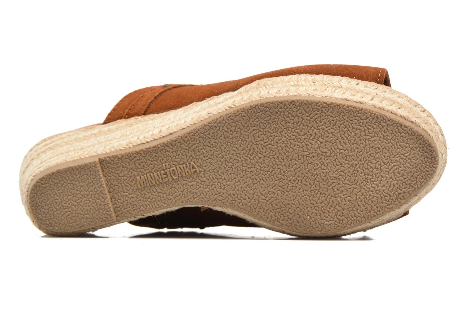 Mules & clogs Minnetonka Quinn Beige view from above