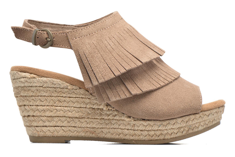 Sandali e scarpe aperte Minnetonka Ashley Beige immagine posteriore