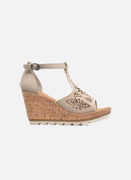 Sandali e scarpe aperte Minnetonka Ellis Grigio immagine posteriore
