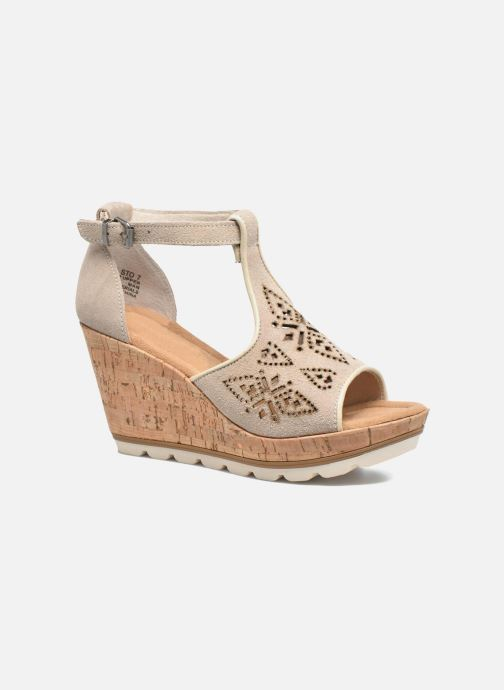 Minnetonka Ellis (gris) - Sandales et nu-pieds chez