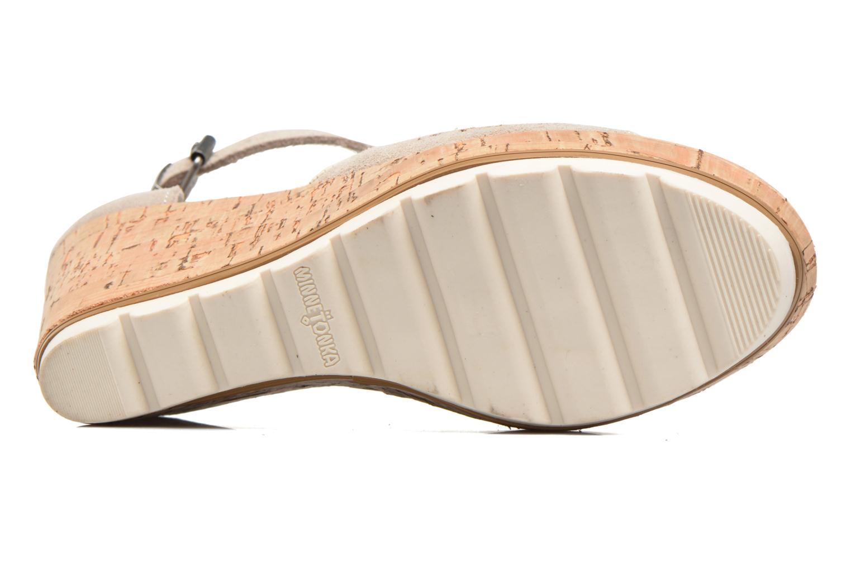 Sandaler Minnetonka Ellis Grå bild från ovan