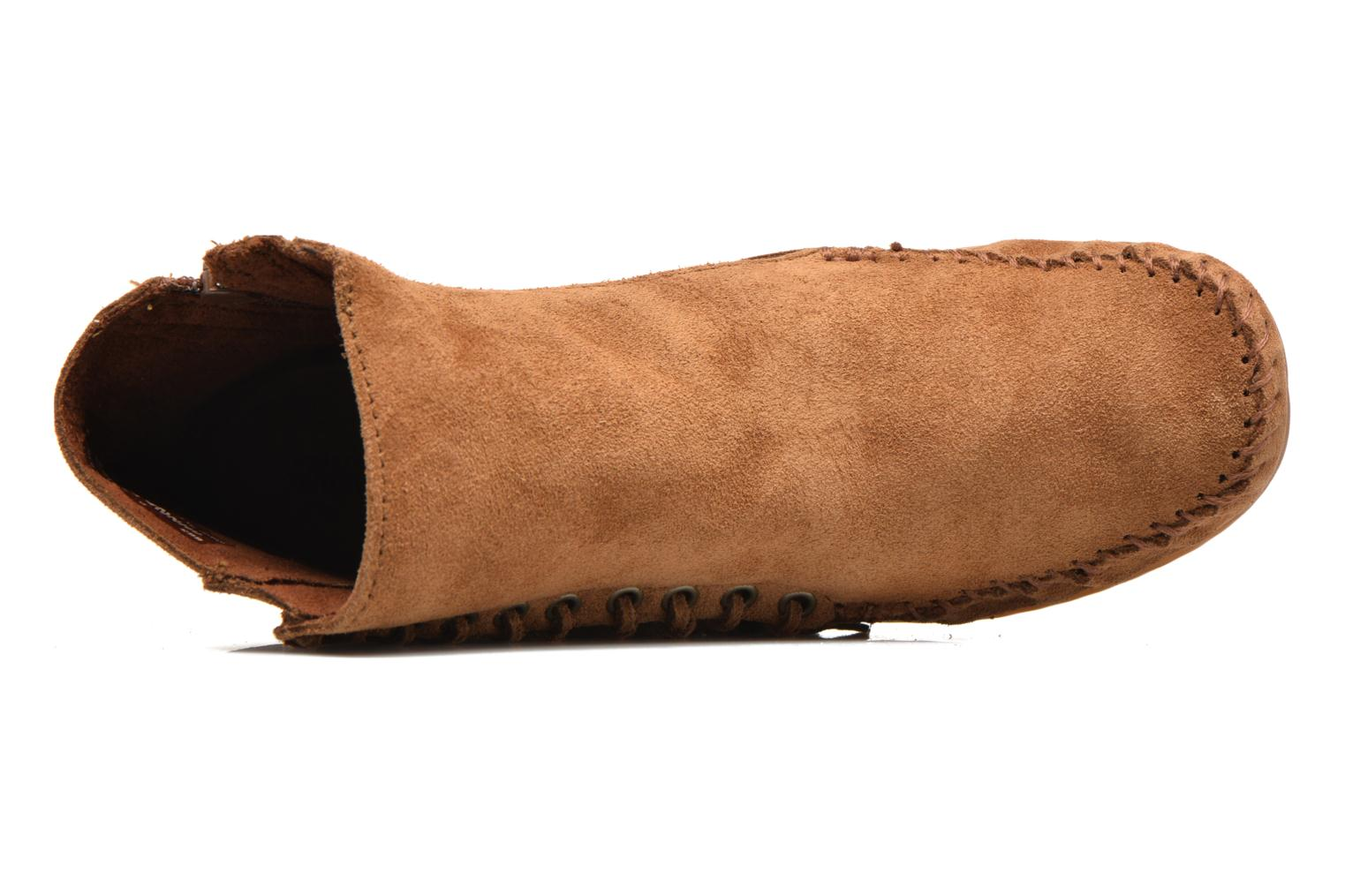 Boots en enkellaarsjes Minnetonka Willow Boot Bruin links