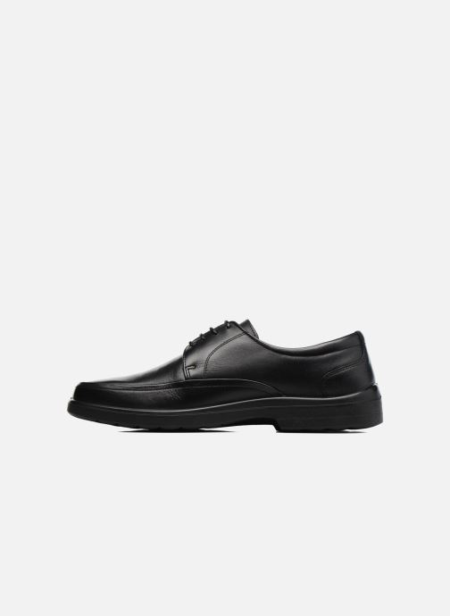 Zapatos con cordones Sledgers Gaf Negro vista de frente