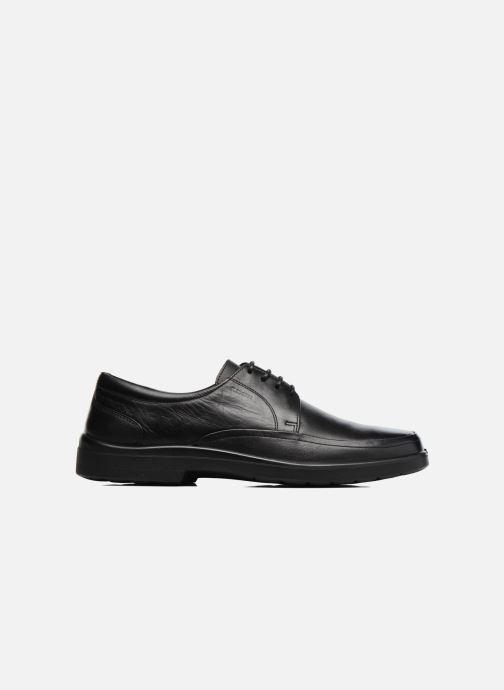 Zapatos con cordones Sledgers Gaf Negro vistra trasera