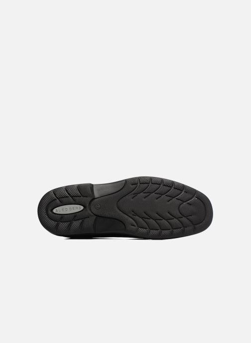 Zapatos con cordones Sledgers Gaf Negro vista de arriba
