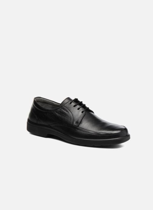 Zapatos con cordones Sledgers Gaf Negro vista de detalle / par