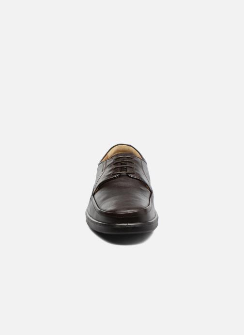 Zapatos con cordones Sledgers Gaf Marrón vista del modelo