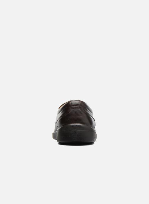 Zapatos con cordones Sledgers Gaf Marrón vista lateral derecha