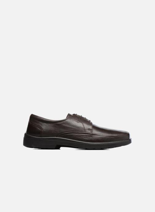 Zapatos con cordones Sledgers Gaf Marrón vistra trasera
