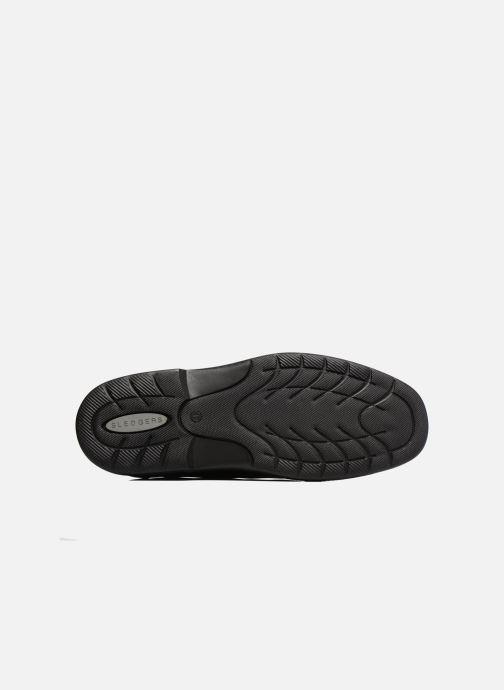 Zapatos con cordones Sledgers Gaf Marrón vista de arriba