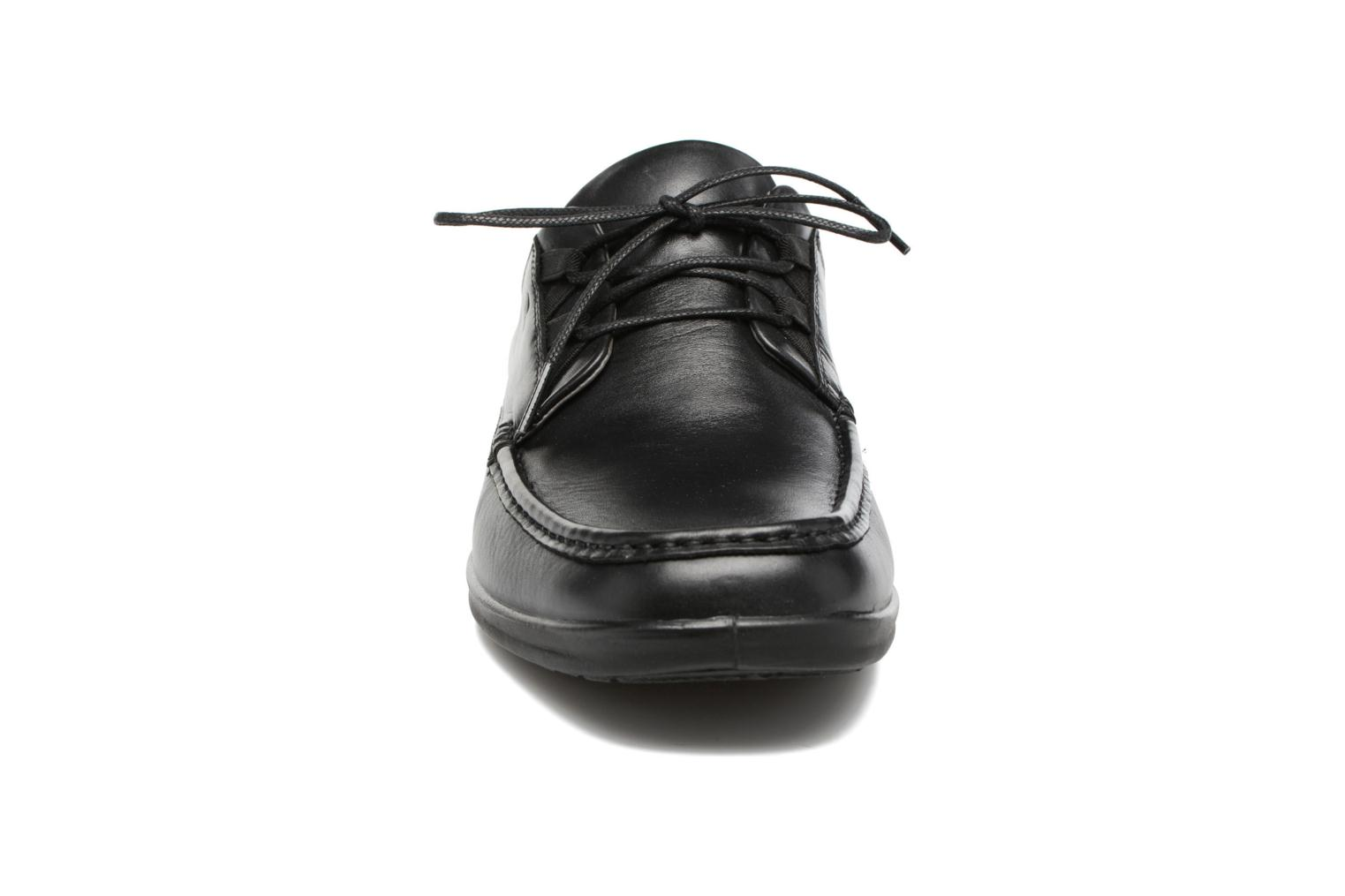 Lace-up shoes Sledgers Gus Black model view