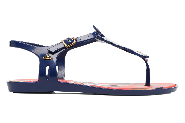 Sandalen Melissa Melissa x Vivienne Westwood - Solar Ii blau ansicht von hinten