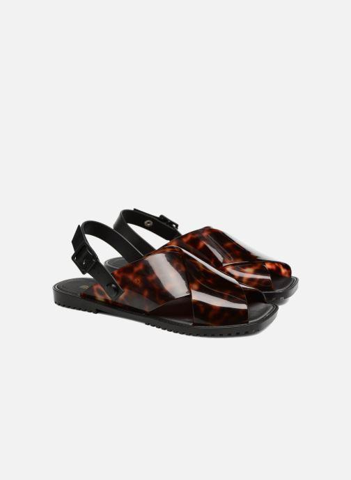 Sandals Melissa Sauce Sandal Black 3/4 view