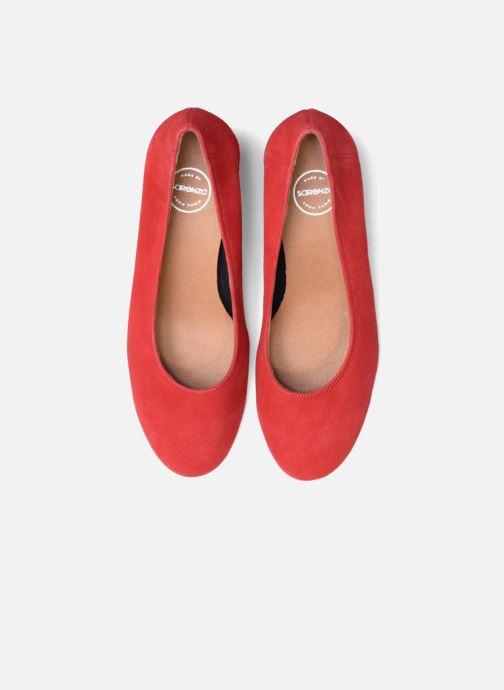 Escarpins Made by SARENZA UrbAfrican Escarpins #7 Rouge vue portées chaussures