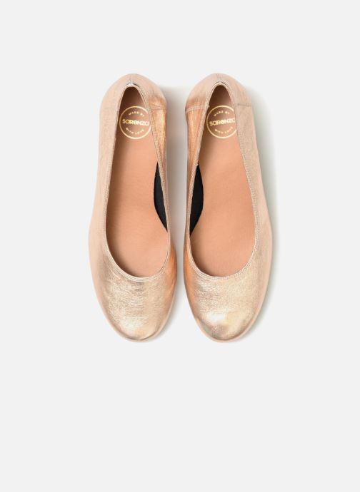 Zapatos de tacón Made by SARENZA UrbAfrican Escarpins #7 Rosa vista del modelo
