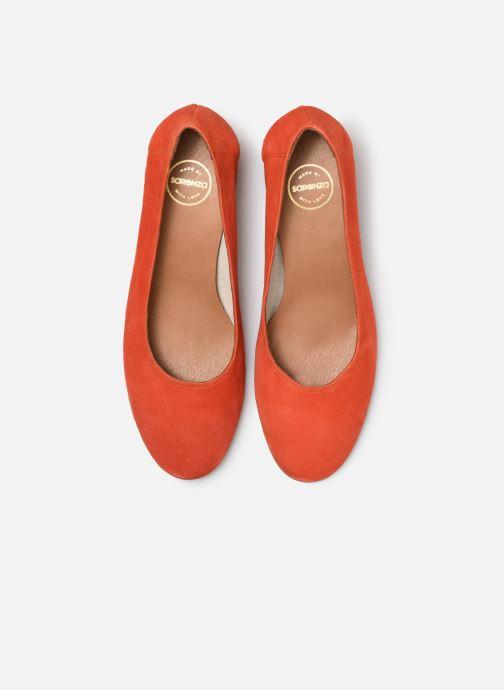 Zapatos de tacón Made by SARENZA UrbAfrican Escarpins #7 Naranja vista del modelo
