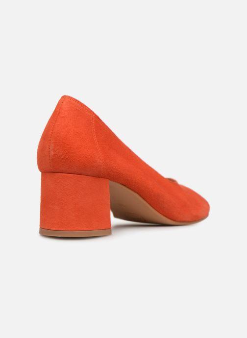 Zapatos de tacón Made by SARENZA UrbAfrican Escarpins #7 Naranja vista de frente