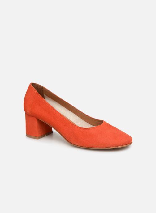 Zapatos de tacón Made by SARENZA UrbAfrican Escarpins #7 Naranja vista lateral derecha