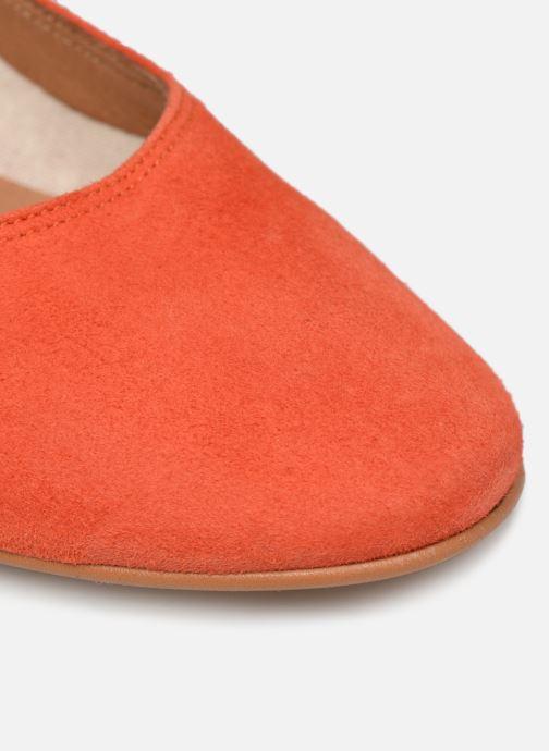 Zapatos de tacón Made by SARENZA UrbAfrican Escarpins #7 Naranja vista lateral izquierda