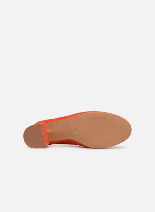 Zapatos de tacón Made by SARENZA UrbAfrican Escarpins #7 Naranja vista de arriba