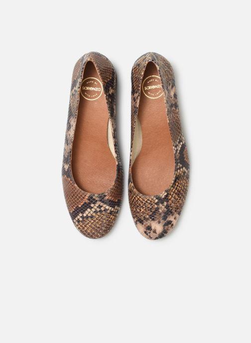 Høje hæle Made by SARENZA UrbAfrican Escarpins #7 Brun se skoene på