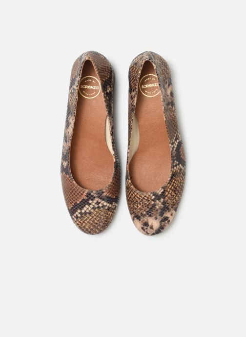 Zapatos de tacón Made by SARENZA UrbAfrican Escarpins #7 Marrón vista del modelo