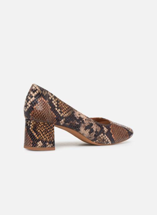 Zapatos de tacón Made by SARENZA UrbAfrican Escarpins #7 Marrón vista de frente