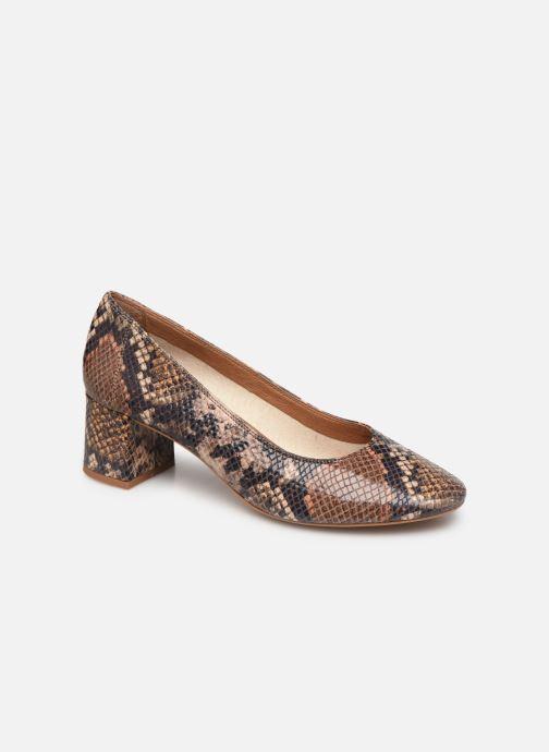 Zapatos de tacón Made by SARENZA UrbAfrican Escarpins #7 Marrón vista lateral derecha