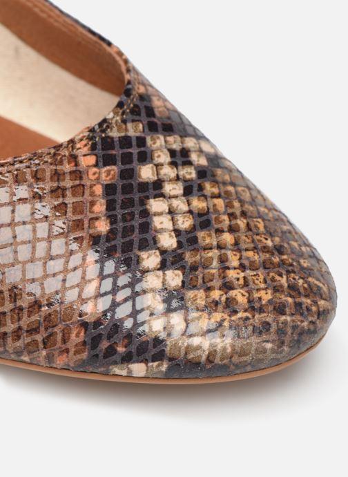 Zapatos de tacón Made by SARENZA UrbAfrican Escarpins #7 Marrón vista lateral izquierda