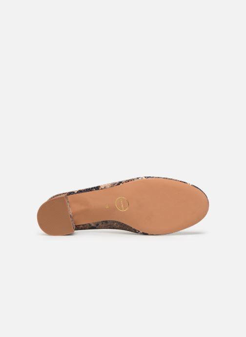 Zapatos de tacón Made by SARENZA UrbAfrican Escarpins #7 Marrón vista de arriba