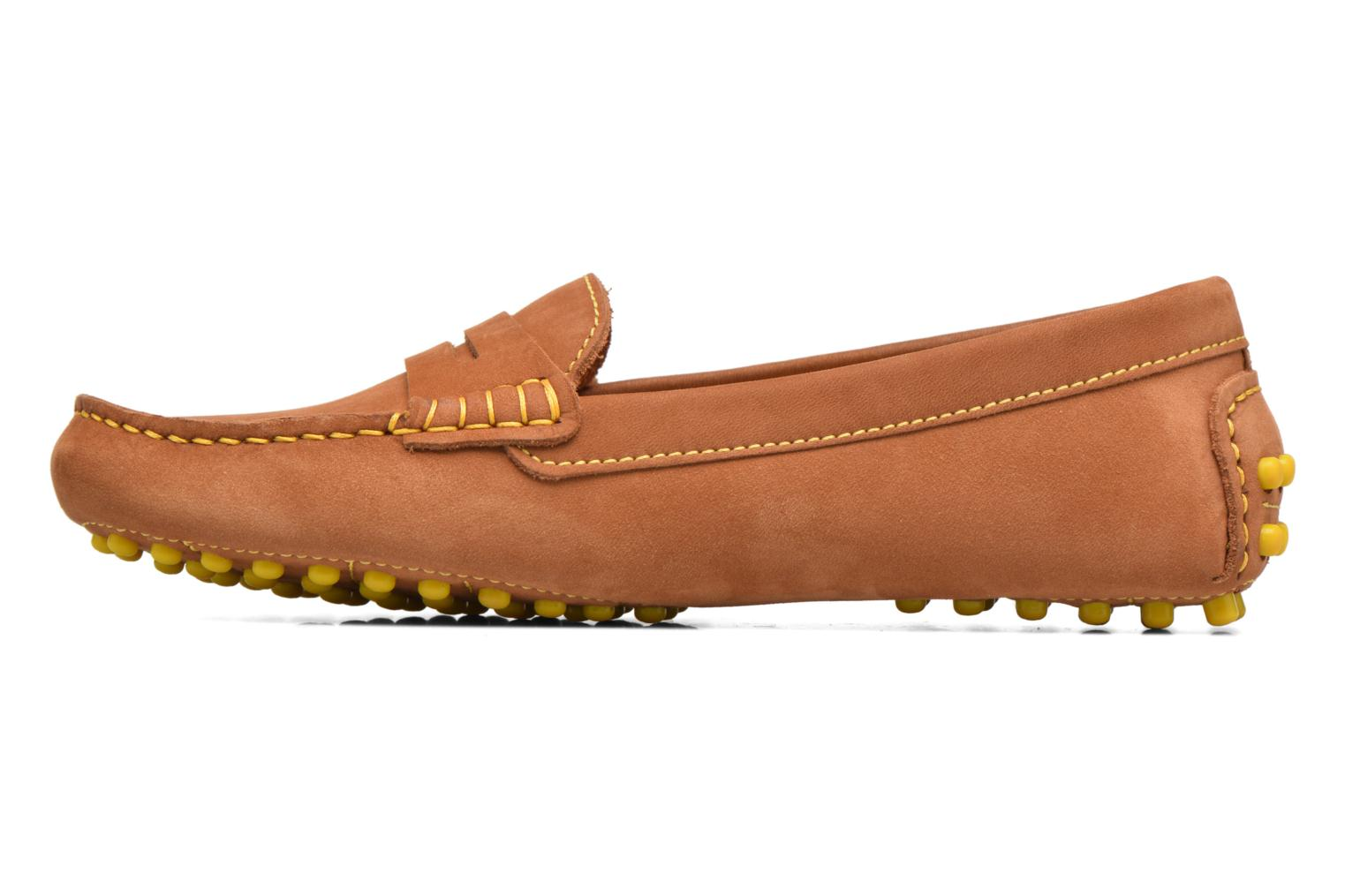 Loafers Georgia Rose Stamac Brown front view