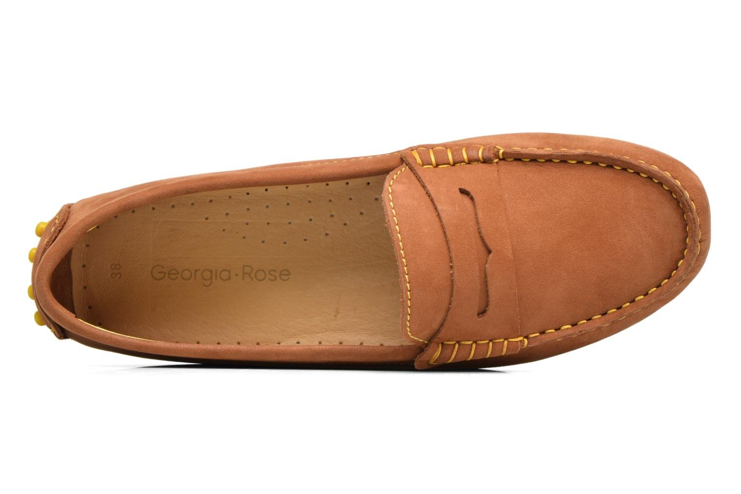 Loafers Georgia Rose Stamac Brown view from the left