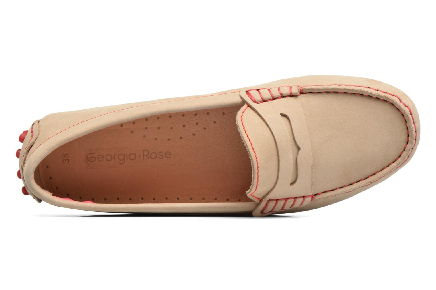 Loafers Georgia Rose Stamac Beige view from the left