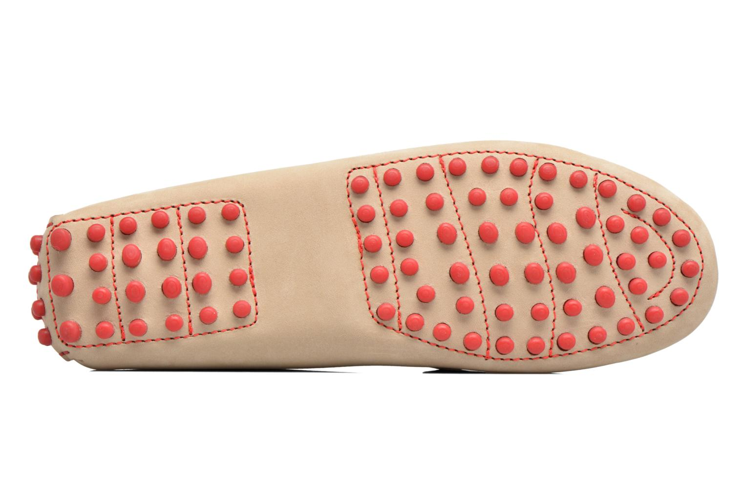 Loafers Georgia Rose Stamac Beige view from above