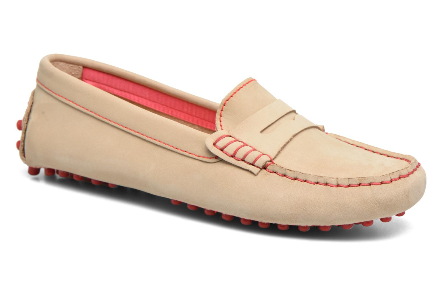 Loafers Georgia Rose Stamac Beige detailed view/ Pair view