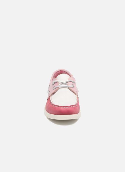 Snøresko Georgia Rose Stateau Pink se skoene på
