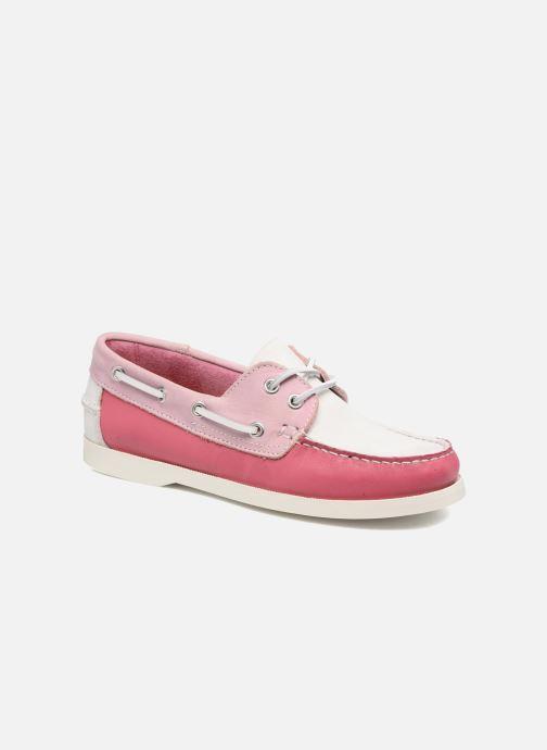 Snøresko Georgia Rose Stateau Pink detaljeret billede af skoene