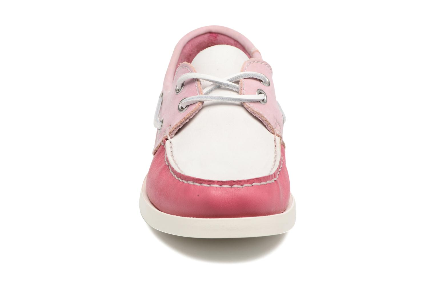 Lace-up shoes Georgia Rose Stateau Pink model view