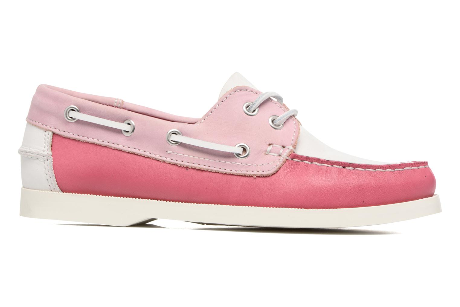 Lace-up shoes Georgia Rose Stateau Pink back view