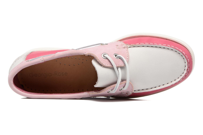 Snörade skor Georgia Rose Stateau Rosa bild från vänster sidan
