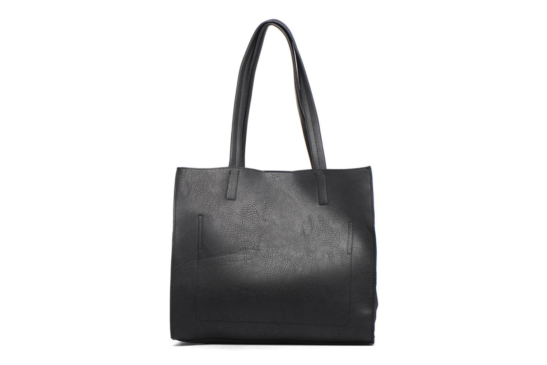 Handtassen Dorothy Perkins Suede Side Shopper Zwart rechts