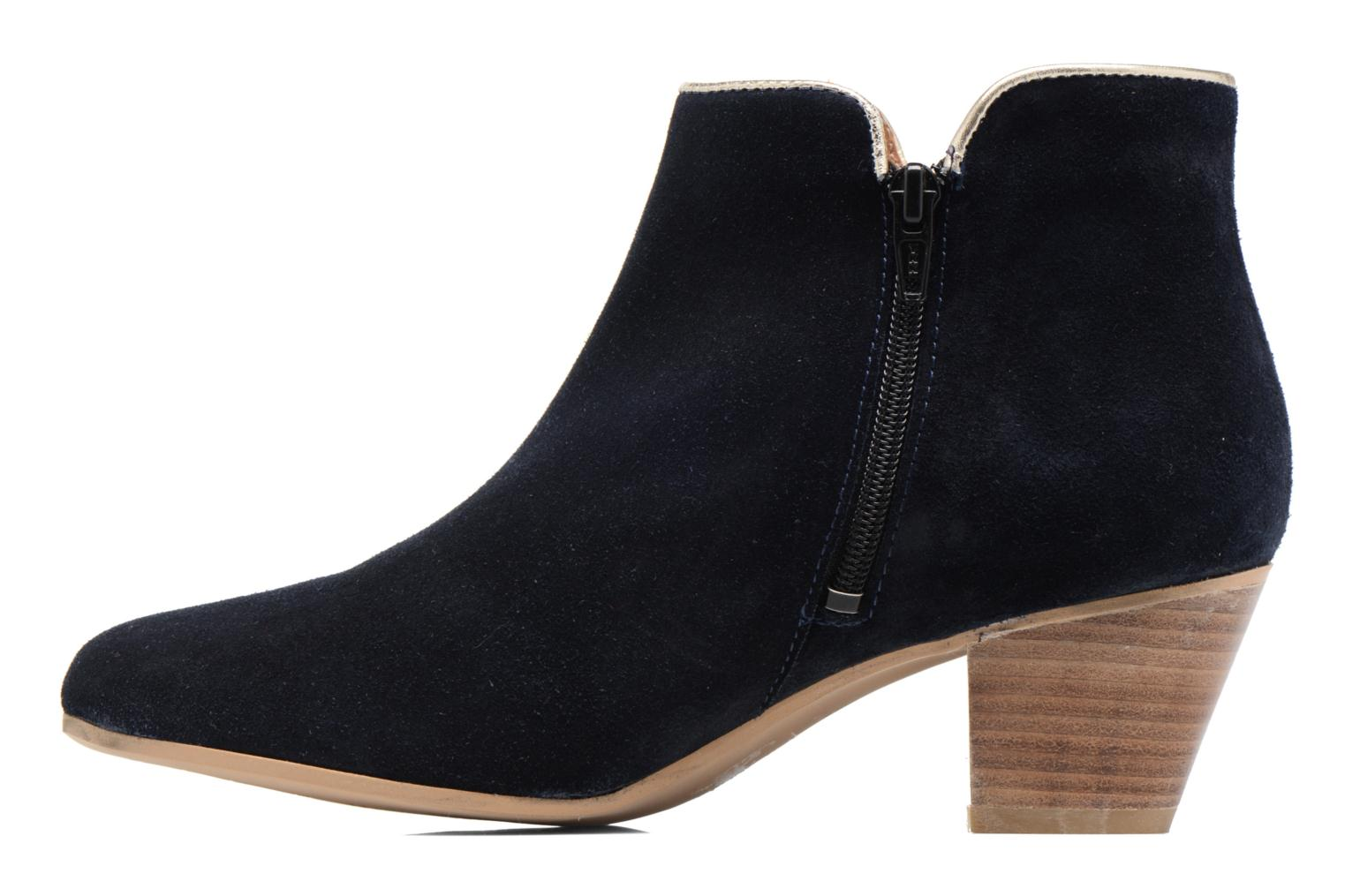 Ankle boots Georgia Rose Calipo Blue front view