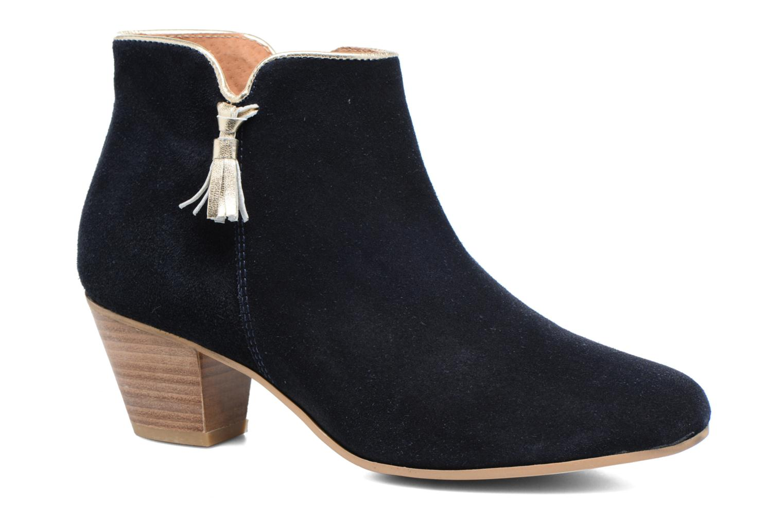 Ankle boots Georgia Rose Calipo Blue detailed view/ Pair view