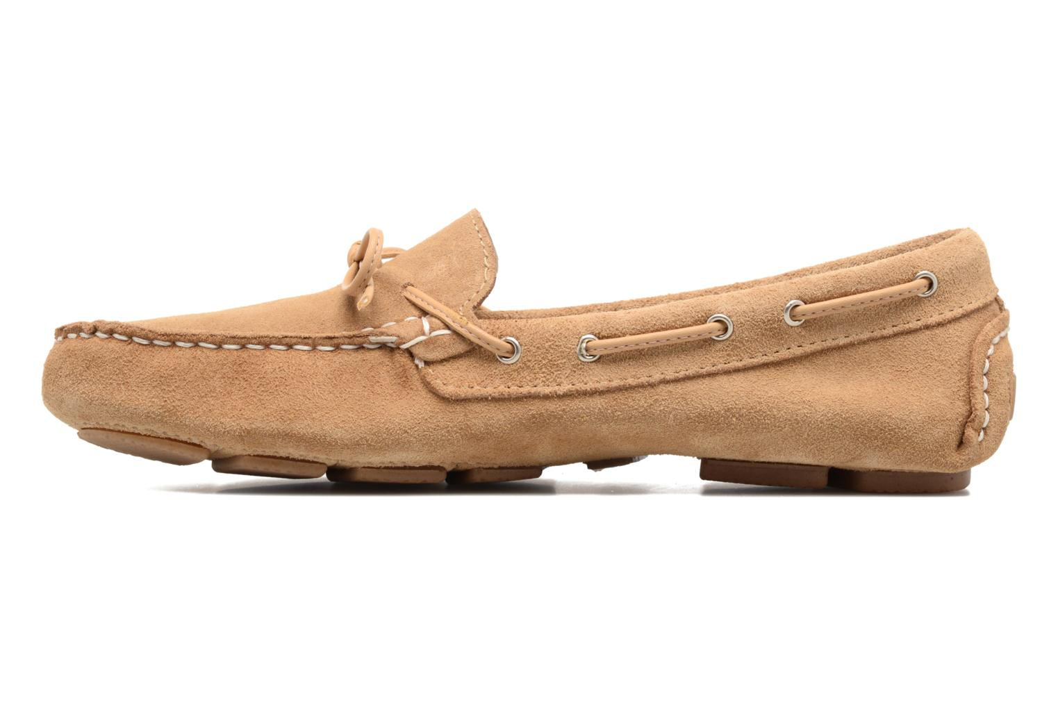 Loafers Georgia Rose Rettac Beige front view