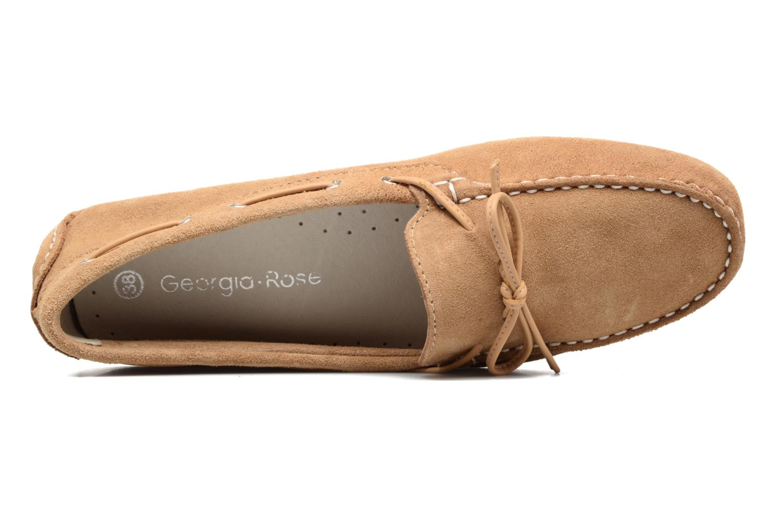 Loafers Georgia Rose Rettac Beige view from the left